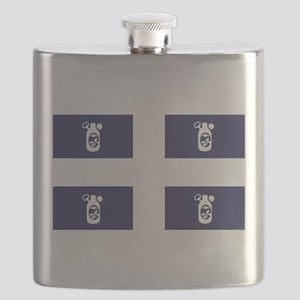 Quebec - Quebecois - Beer - Flag Flask